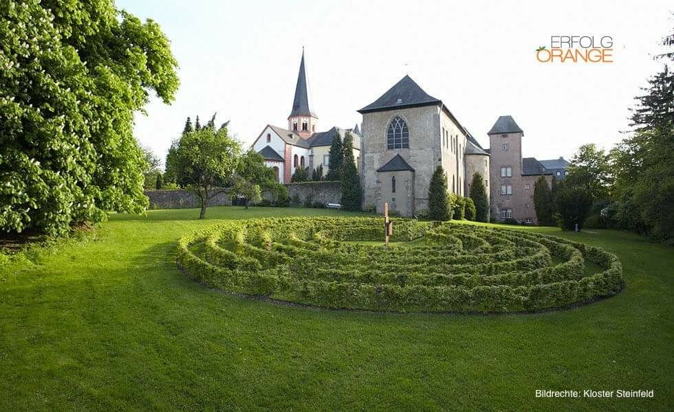 Labyrinth in Kloster Steinfeld