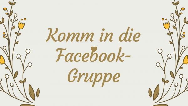 ich habe eine aktuelle Facebook-gruppe in die jeder kann
