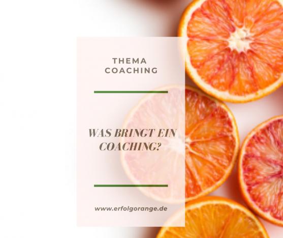 Was bringt ein Coaching